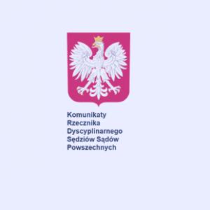 Komunikaty Rzecznika Dyscyplinarnego_zdjecie