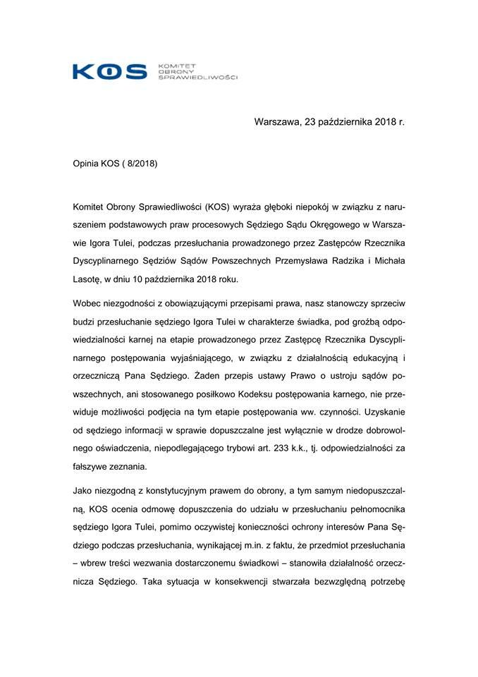Opinia KOS 8_2018