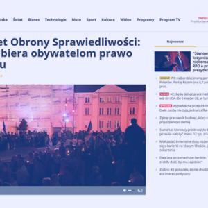 Polsat News KOS_KRSodbiera obywatelom prawo do sądu