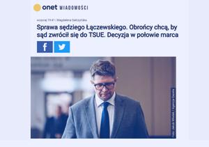 Onet_Sprawa sędziego Łączewskiego_zdjecie