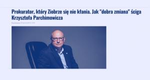 Prokurator, który Ziobrze się nie kłania_Wyborcza_zdjęcie
