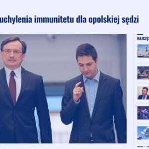 Wyborcza_Nie będzie uchylenia immunitetu dla opolskiej sędzi_zdjęcie