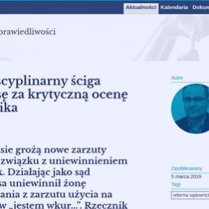 AO_rzecznik dyscyplinarny ściga sędziego Jęksę_zdjęcie