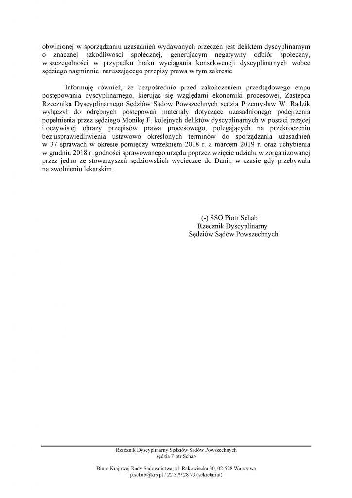 Komunikat Rzecznika_M.Frąckowiak_2