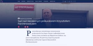 OKO.press_Sąd nad niezależnym prokuratorem_zdjęcie