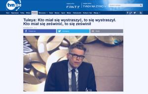 TVN24_Tuleya Kto miał się wystraszyć_zdjęcie