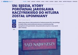 Interia_SN Sędzia który porównał Jarosława Kaczyńskiego do Hitlera_zdjęcie