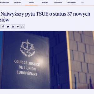 Rzeczpospolita_SN pyta TSUE o status 37 nowych sędziów_zdjęcie