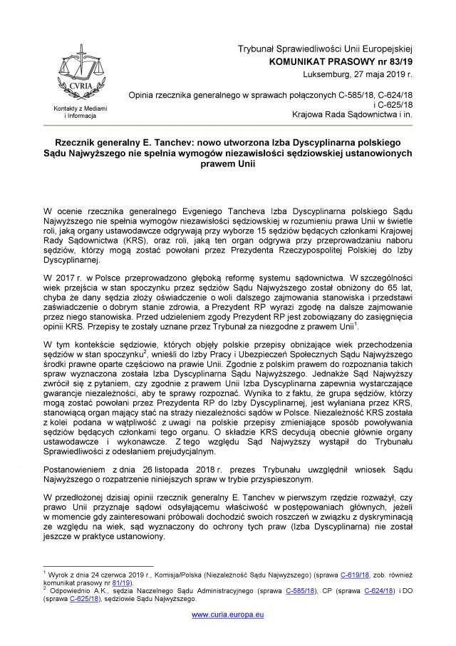 TSUE komunikat IDSN KRS_27.06.2019_1